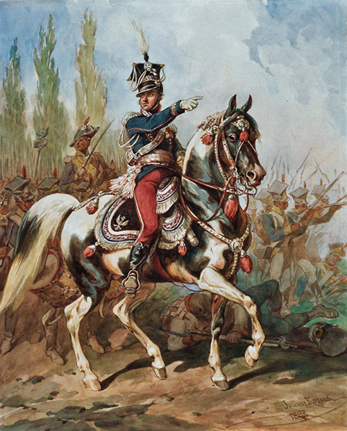 Jan Henryk Dąbrowski, 1755-1818 - Polish Legions - Poland - Chansons de soldats - Soldiers songs and military marches